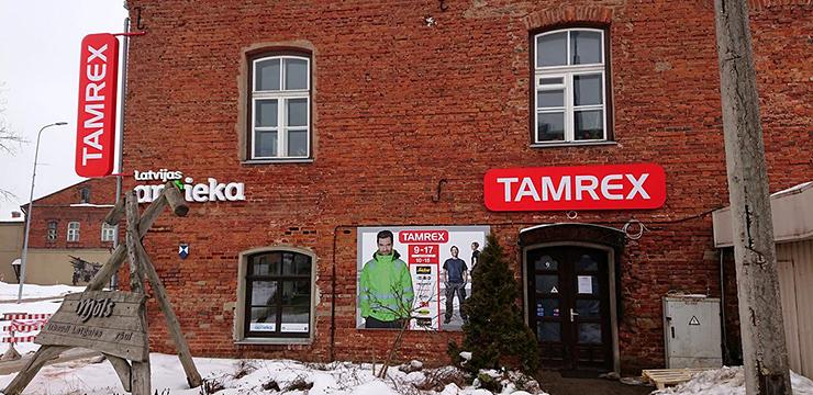 Tamrex - Rēzekne